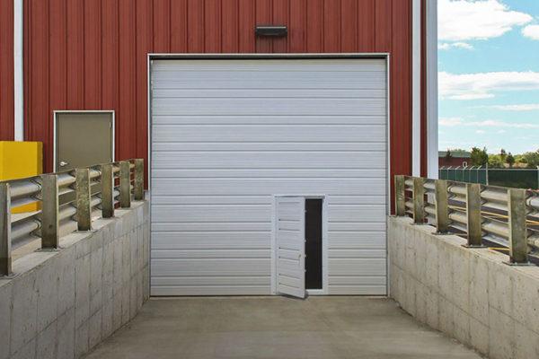 door in garage door commercial, portland oregon