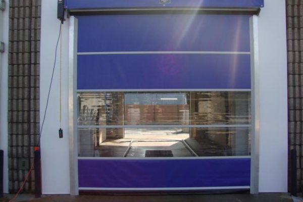 fabric vinyl commercial doors, portland oregon