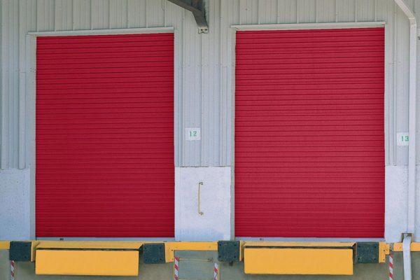 roll-up sheet doors, warehouse doors