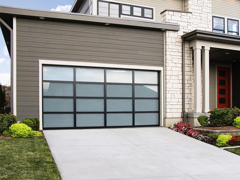 glass garage doors, portland oregon